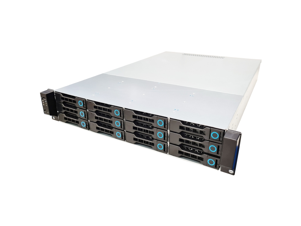2U Server Chassis | Short and Full Depth Server Cases | Hot-Swap