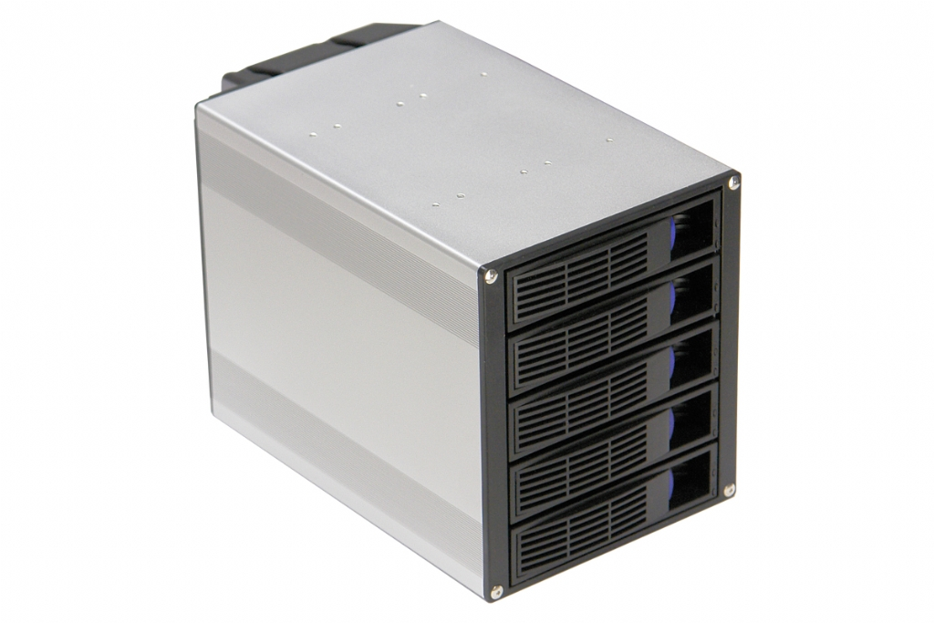 "Logic Case SC-H500 | 5 x 3.5"" SATA Hot Swap into 3 x 5.25 ..."