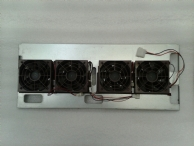 80mm Hot Swap Fan Wall Bracket with 4 x Hot Swap Fans