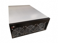 4U Mining Server Chassis - 8x Double Width GPU Support - Excellent Cooling - Single ATX PSU Support
