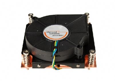 1U Socket 115X All Copper Heatsink Fan