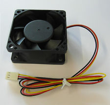 Server Case Fan 60mm x 60mm x 25mm deep