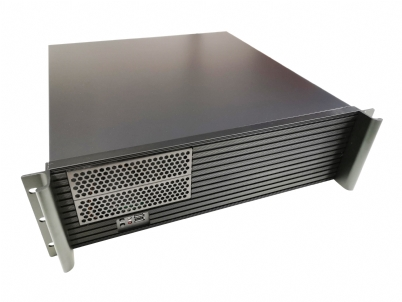 3U Rackmount Chassis, 450mm depth with 2 x 5.25