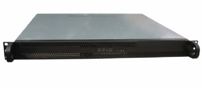 Rack Mountable Server Chassis Case 1U 400MM Short Depth for ATX MB
